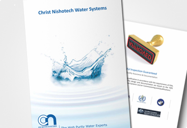 Flexi customize design portfolio for brochure for Water brochure template
