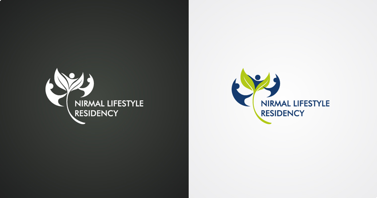 Home / Portfolio / Logo Design / Nirmal Lifestyle Residency Co-Op Hsg ...