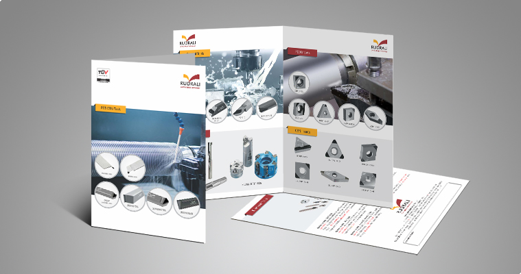 Brochure design and printing for manufacturer of high for Brochure design tools
