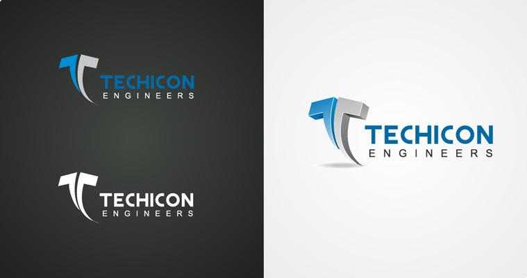 Techicon Engineers Pvt. Ltd Logo Design