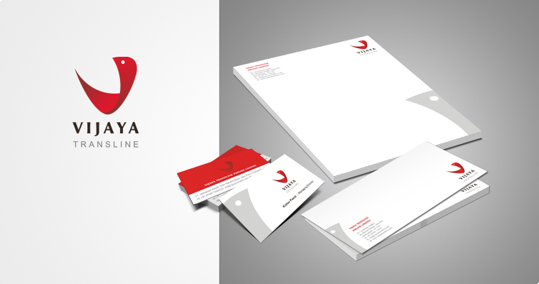 Vijaya Transline Pvt Ltd Corporate identity