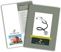 Brochure Templates medical clinic