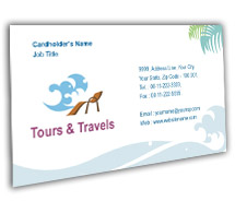 Tours & Travel Tours And Travel Agency BusinessCardTemplates