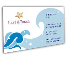 Tours & Travel Tours Agents BusinessCardTemplates