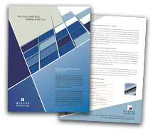 Brochure Templates modern architecture