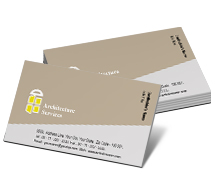 Business Card Templates architecture firms