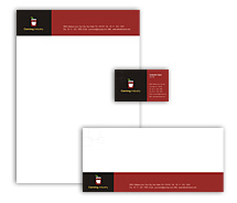 Corporate Identity Templates canning  food