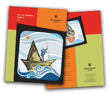 Finance Investment Company brochure-templates