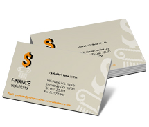 Business Card Templates Finance Capital Finance Solutions