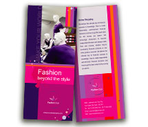 Fashion New Fashion Shop brochure-templates