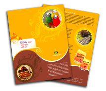 Hotels Bar and Grill brochure-templates