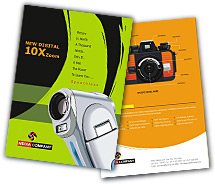 Electronics Camera Supplies brochure-templates