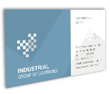 Industrial Industrial Products BusinessCardTemplates