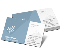 Business Card Templates Industrial Industrial Products
