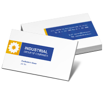 BusinessCardTemplates Industrial Industrial Machinery