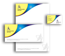 Communications Wireless Communication System corporate-identity-templates