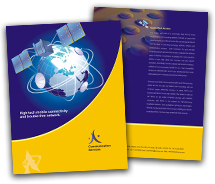Communications Wireless Communication System brochure-templates