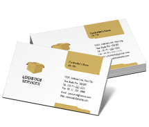Business Card Templates logistic management services