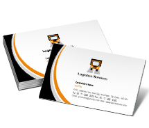 Business Card Templates Logistics Transportation And Logistics