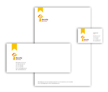 Security Brick House Security corporate-identity-templates