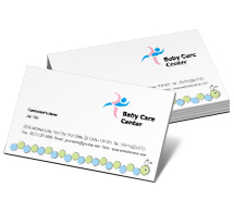 Business Card Templates babies care