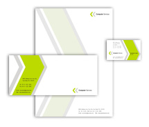 Corporate Identity Templates computer components