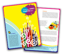 Brochure Templates school of arts