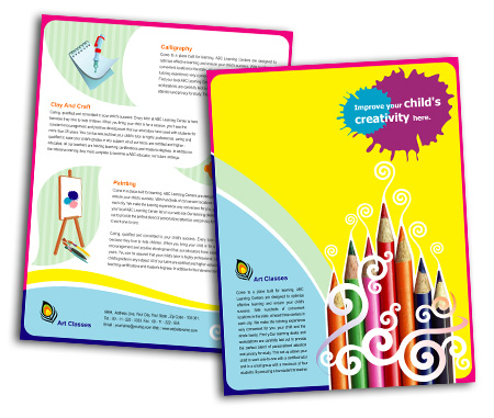 Complete Brochure  View with Layout For School of Arts