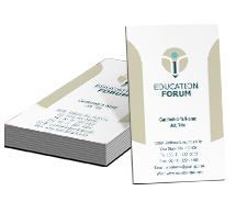 Business Card Templates Educational Education Forum