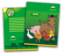 Agriculture Cattle Farming brochure-templates