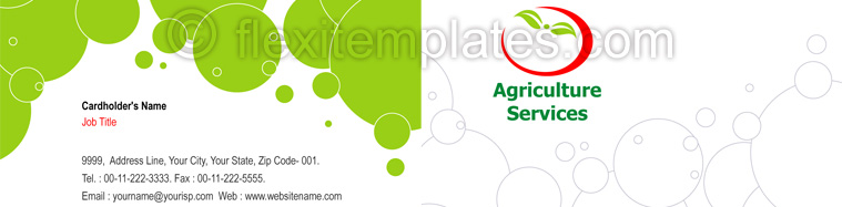 Actual Corporate Identity  Design For Agriculture Farming
