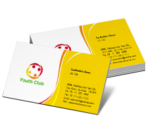 Social & Cultural Youth Club business-card-templates