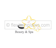 Logo Templates beauty and spa centre