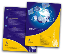 Brochure Templates Communications Wireless Communication System
