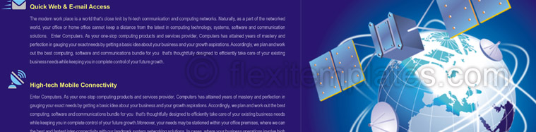 Actual Brochure  Design For Wireless Communication System