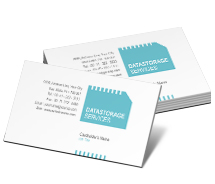 Computers Data Storage Service Provider business-card-templates