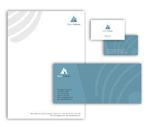 Corporate Identity Templates modern architectural design