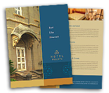 BrochureTemplates Hotels Heritage Hotel Single Page