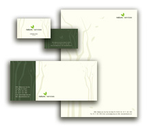 Corporate Identity Templates Nature Rainforests