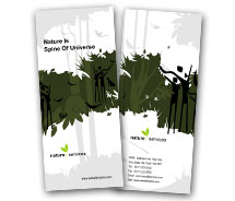 BrochureTemplates Nature Rainforests Two Fold