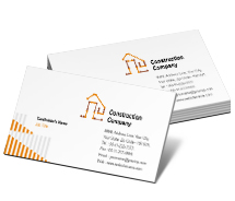 Business Card Templates Architecture Building Plans