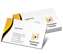 Business Card Templates Architecture Tower Construction Companies