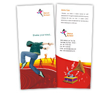 Brochure Templates Educational Dance Schools