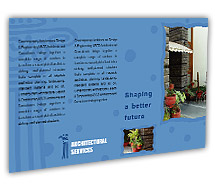 Post Card Templates residential architect