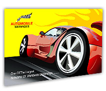 Automobiles Sports Cars post-card-templates