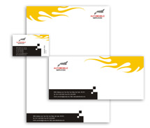 Corporate Identity Templates sports cars
