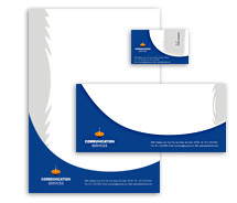 Corporate Identity Templates mobile communication services