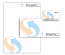 Corporate Identity Templates mobile communication service