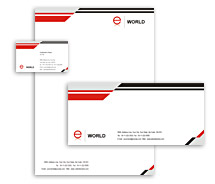 Corporate Identity Templates web solution