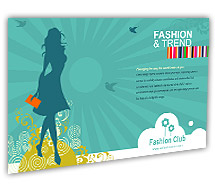 Post Card Templates fashion styles store